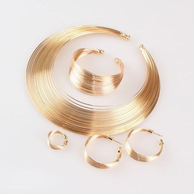 Indian Jewelry Set Metal...