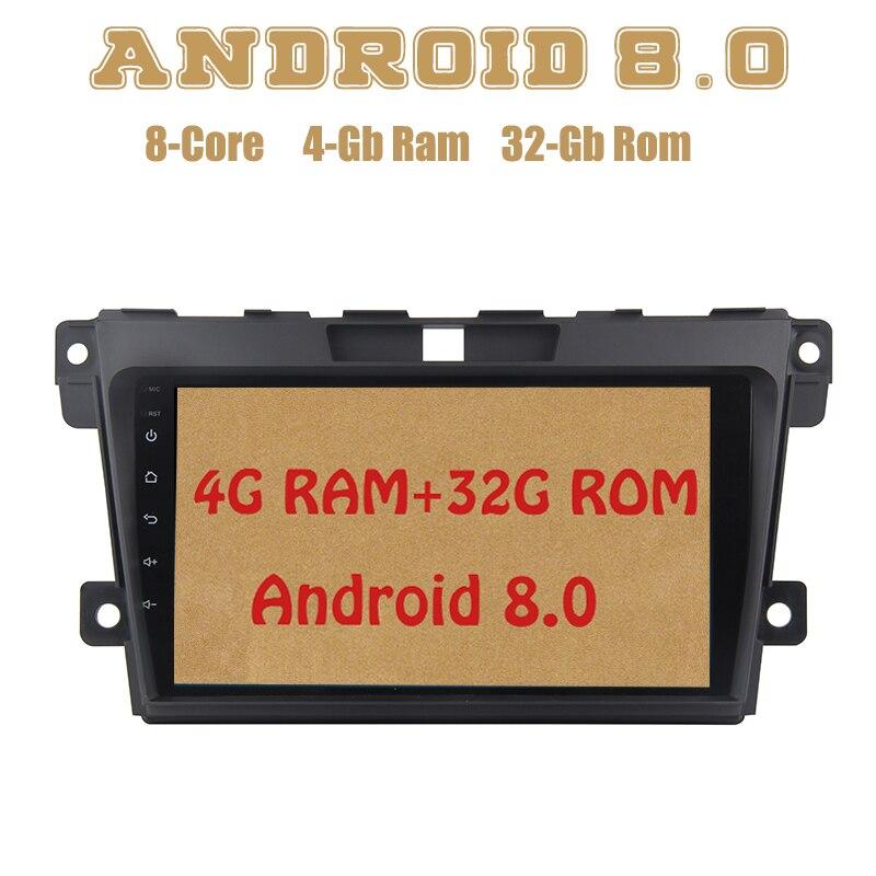 Octa core PX5 Android 8 0 car radio gps for Mazda CX7 CX 7 2010 2011