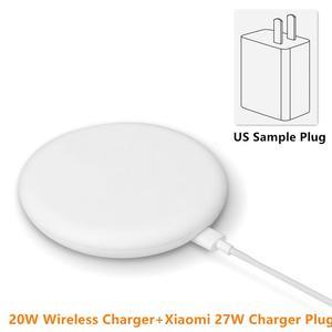 Image 5 - 100% oryginalna bezprzewodowa ładowarka Xiao mi szybka 20W Max dla mi 9 20W mi X 2 S/3 10W Qi EPP kompatybilny telefon komórkowy 5W wiele sejf