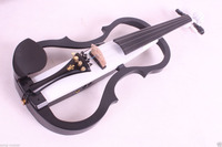 new 4/4 Electric Violin Solid wood Powerful Sound Big jack Small jack Master #11