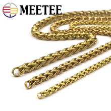 50cm Pure Copper Chain Brass Pants  Bag DIY Hardware Accessories Dog Buckle Key Lobster BD010