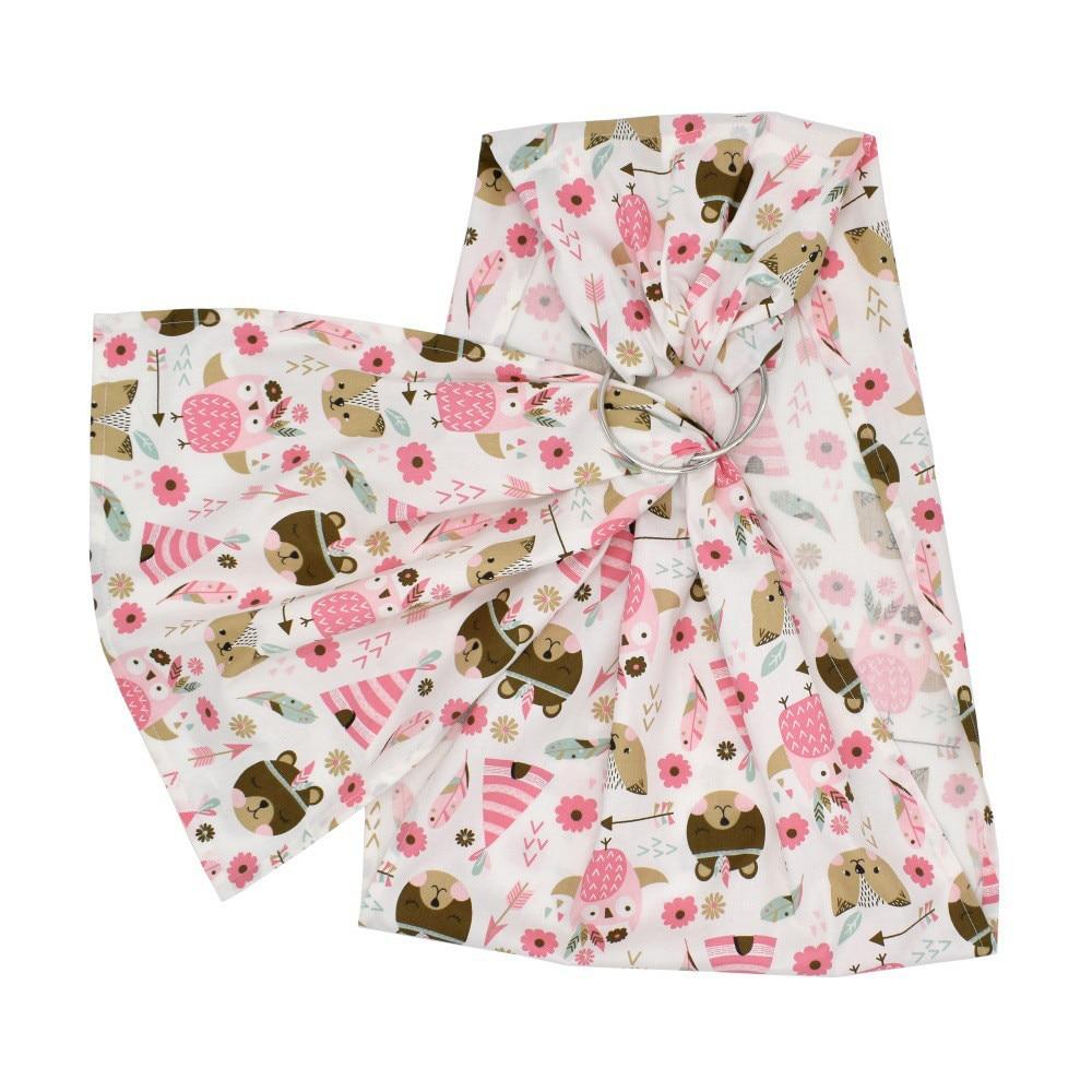 Baby Stripes Floral Printed Doll Carrier Front Back  Ring Sling Children Gift US