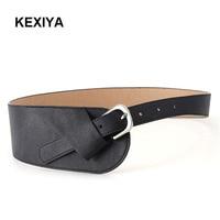 KEXIYA2017 Designer Fashion Ladies Belt Red Luxury Ladies Casual Fashion Accessories Luxury Dress Wide Belt Metal