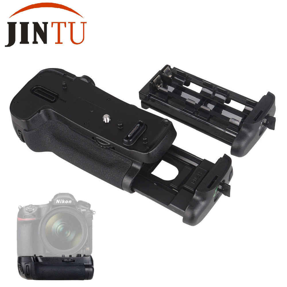 JINTU Vertical Shutter Battery GRIP for Nikon D850 DSLR Camera as MB-D18 work with EN-EL15/EN-EL15a or 8 pcs AA battery travor vertical battery grip holder for nikon d850 mb d18 dslr camera battery handle work with en el15 battery