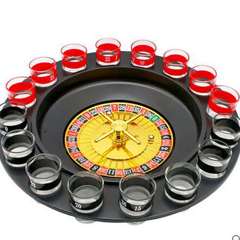 Joke Creative Family Game Indoor Novelty Funny Children's Toys Drinking Props Russian Turntable Game Desk Toy Christmas Gifts creative toy funny toy family interactive games spoof russian roulette model balloon gun party tricky creative gun adult tricky