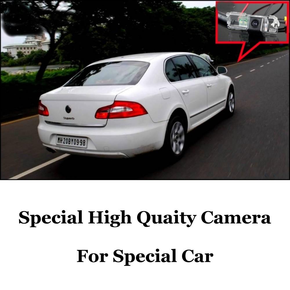 Car Camera For Skoda Superb B6 Super b 3T MK2 High Quality Rear View Back Up Camera For Fans  CCD + RCA Car