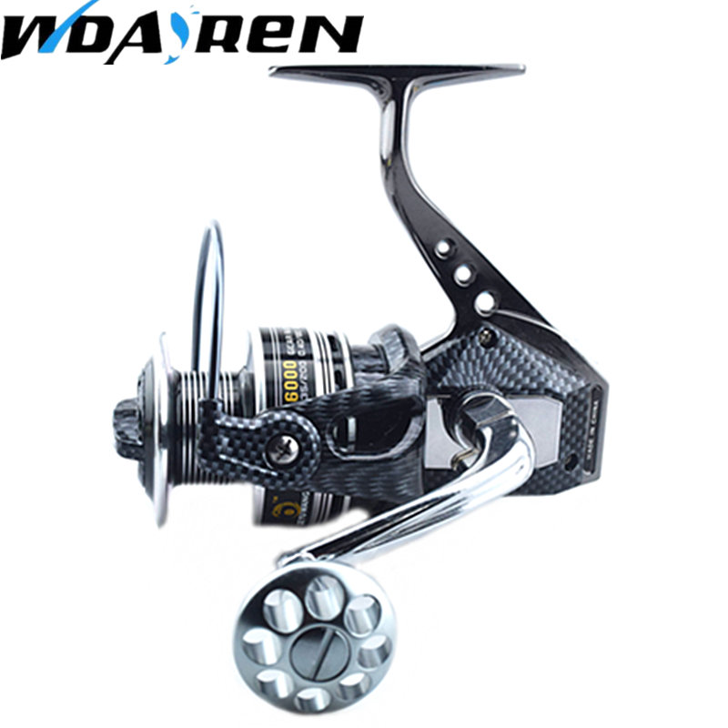 Size 7000 Snake Patterns Color Spinning Fishing Reel Appearance Like Daiwa Fishing Reel Sea Fishing Big Wheel Fishing Gear FA286
