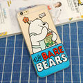 Cover For iphone 5 5s 6s 6 Plus Case Phone Case 6Plus Cartoon Bears 5 5 s Soft Silicone Coque & Panda  Ice Bear Thicken TPU Back