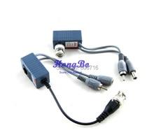 Gualanteed 100% UTP Balun CCTV Balun UPT twisted pair Video Audio Power transceiver