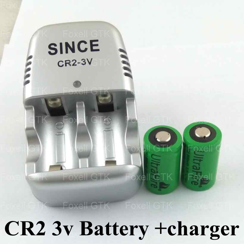 US $18.62 |2 4 pcs CR2 battery 3v 15270 battery rechargeable cr2 3v lithium batteries li ion 800mah bateria + 1pc CR2 Charger +free shipp|battery