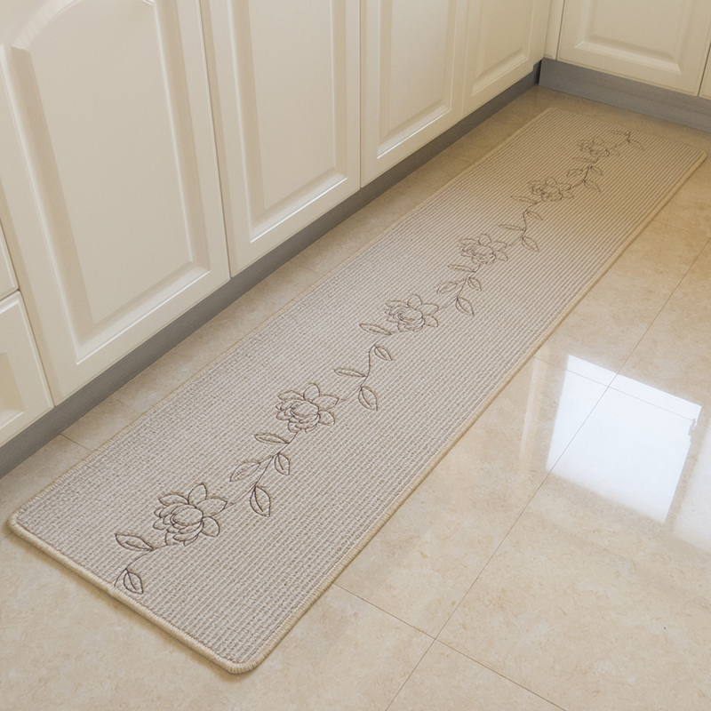 Washable Play Rugs: WINLIFE Home Rugs Flower Pattern Mat Area Rugs Anti Skid