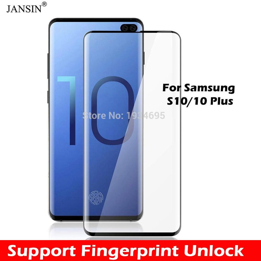 89086ae9ef 3D verre trempé complet pour Samsung Galaxy S10 S10 Plus Film protecteur  d'écran pour Samsung Galaxy Note 9 S10 Plus S10 dans Écran Protecteurs de  ...