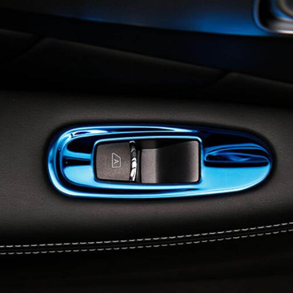 Door armrest glass windshield lift button switch penal sticker cover trim for infiniti Q50 QX60 Q70 Interior Accessories автомобильный коврик seintex 85588 для infiniti jx35 qx60