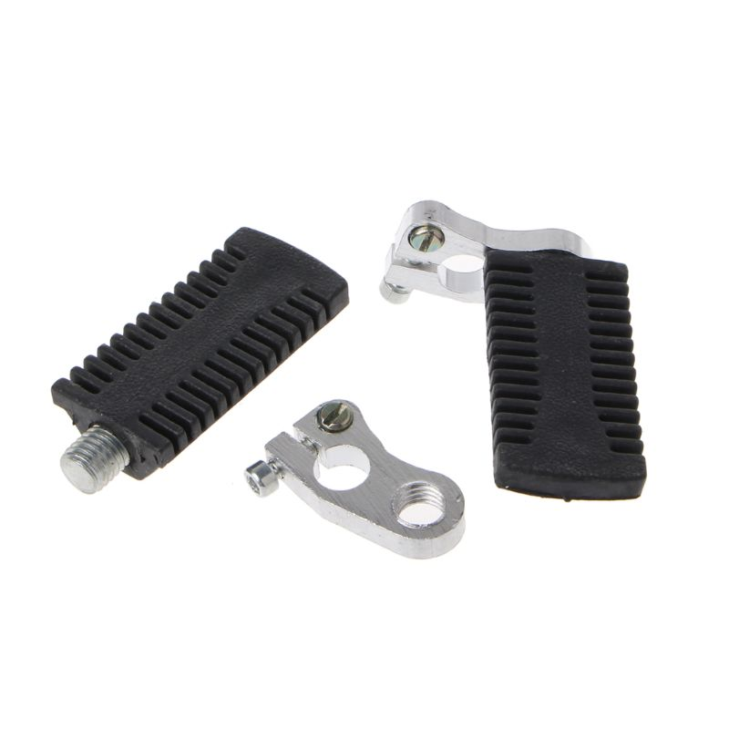 Motorcycle Pedals Foot Pegs Rest Footrests Footpegs For 47cc 49cc Mini Moto, Pocket Bike, Quad ATV