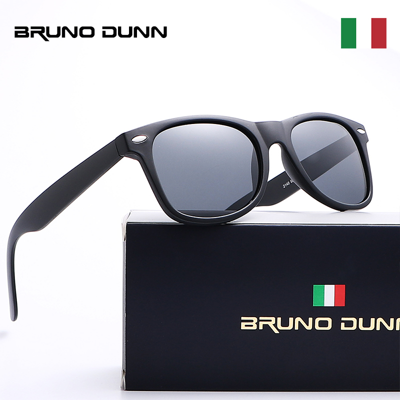 Bruno Dunn Mirror Unisex Sunglasses Polarized Lens Luxury Brand Designer Sun glasses For Men Women Male Laides Oculos De Sol ray