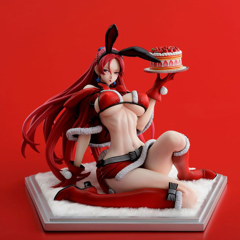 Valkyria Chronicles Juliana Everbart X'mas Party Ver. 1/7 Scale Sexy Adult Painted Figure Collectible Model Toy 14cm valkyria chronicles remastered europa edition игра для ps4