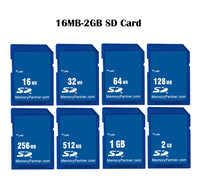 Carte mémoire SD 16 mo 32 mo 64 mo 128 mo 256 mo 512 mo 1 go 2 go SDXC SD Flash numérique sécurisé Carte Cartao de Memori livraison gratuite