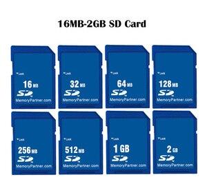Image 1 - SD カードメモリカード 16 メガバイト 32 メガバイト 64 メガバイト 128 メガバイト 256 メガバイト 512 メガバイト 1 ギガバイト 2 ギガバイト SDXC デジタルフラッシュメモリカードのセキュア Sd Cartao デ Memori アラカルト送料無料