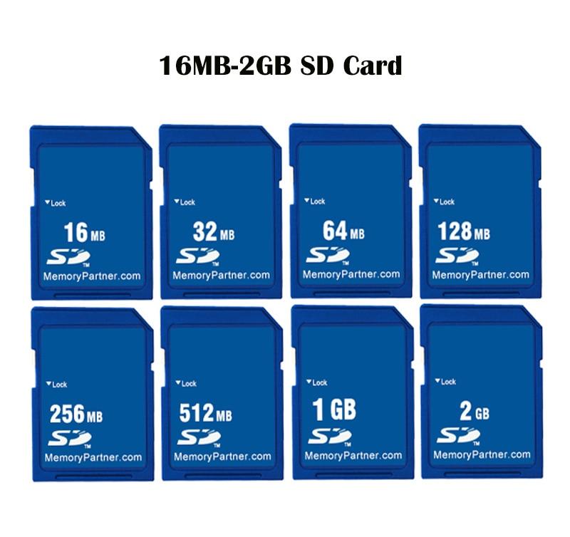 Tarjeta SD tarjeta de memoria de 16MB 32MB 64MB 128MB 256MB 512 MB 1GB 2GB SD Flash Secure Digital; de Memori carta envío gratis