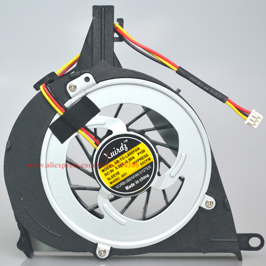 Cooling fan for TOSHIBA Satellite L650 L650D L655 L655D cpu fan, 100% Brand new genuine L650 L650D laptop cpu cooling fan cooler