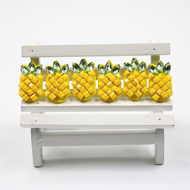10db 20pcs Szép ananász Kreatív dekoratív ruházat 3D - Művészet, kézművesség és varrás - Fénykép 2