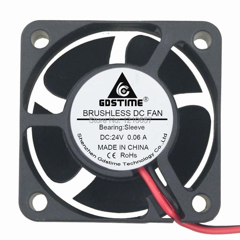 10pieces lot gdstime 4020s 4cm 20mm 40mm small size dc 24v 2p exhaust fan