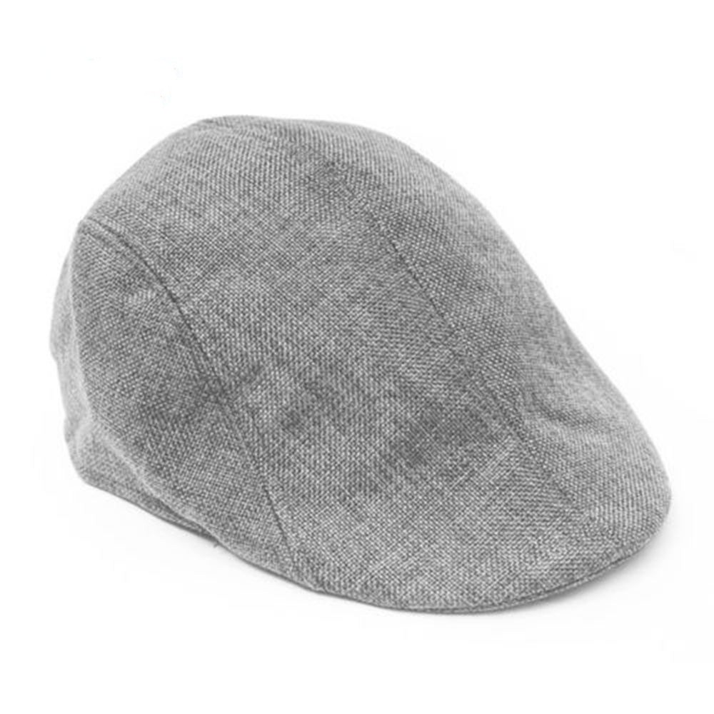 Beret-Cap Summer Caps Clothing-Accessories Breathable Fashion Men for Simple Temperament