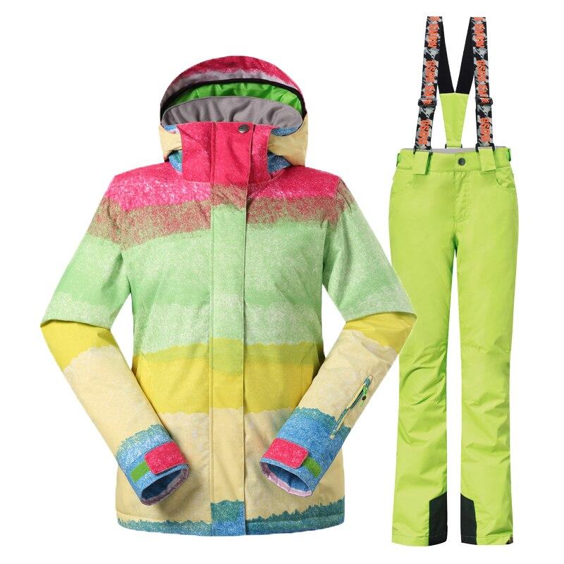 Gsou Snow шаңғы костюмдер әйелдер - Спорттық киім мен керек-жарақтар - фото 4