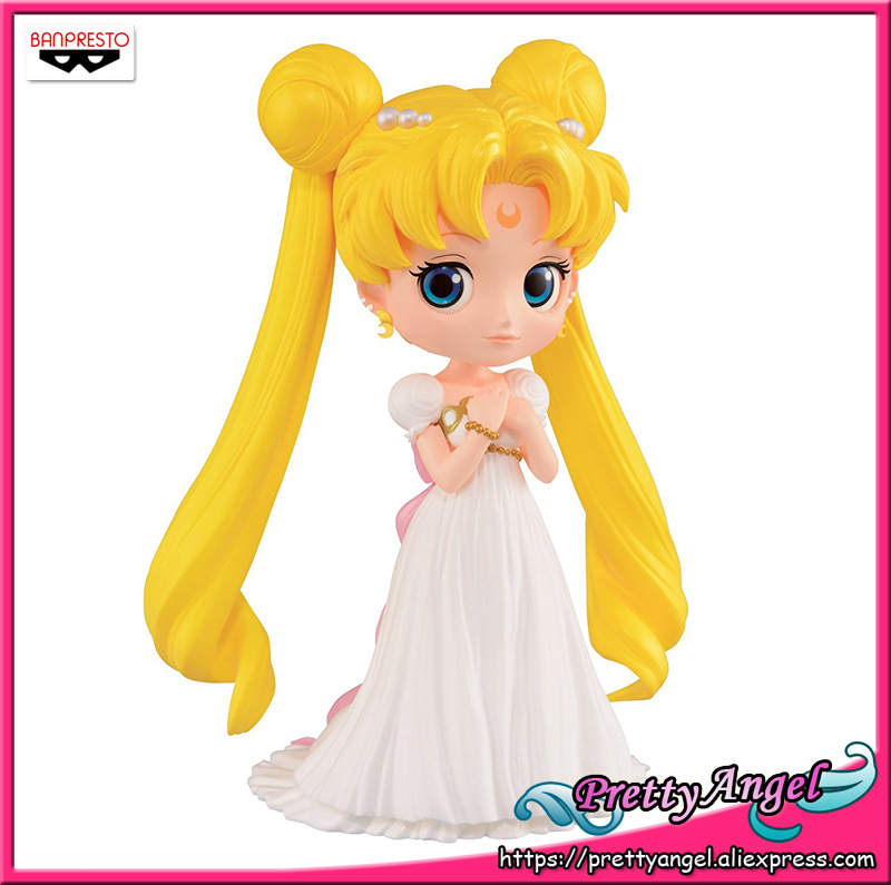 PrettyAngel - Genuine Banpresto 20th Anniversary Sailor Moon Q Posket Qposket Princess Serenity PVC Action Figure adriatica часы adriatica 1137 4116q коллекция titanium