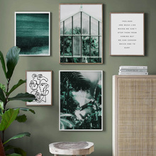 Abstract Line Drawing Figure Plant Quotes Wall Art Canvas Painting Nordic Posters And Prints Wall Pictures For Living Room Decor abstract girl line drawing plant leaf wall art canvas painting nordic posters and prints wall pictures for living room decor