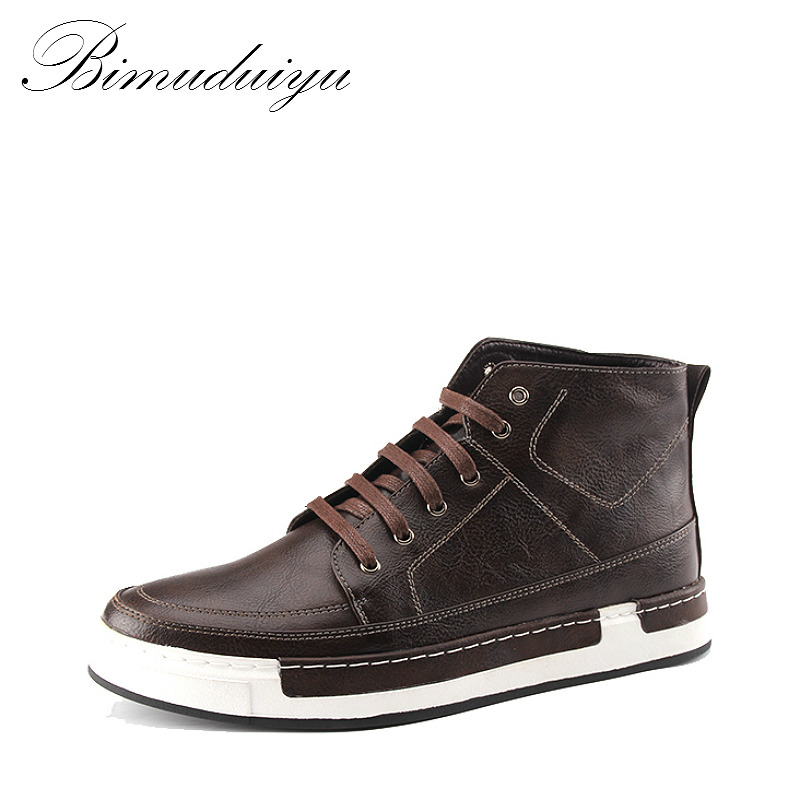 bimuduiyu autumn new high top s ᐊ ankle ankle boots