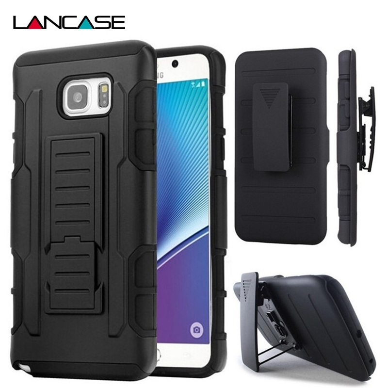 For Samsung A5 2016 Case Silicon Hybird Armor Stand Belt