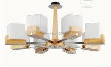 2014 nuevo y moderno lámparas y colgantes de madera para sala de estar colgando de iluminación vestíbulo dormitorio decoración del hogar luces pendientes