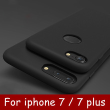 New ultra-thin drop Phone Case for iPhone 7 plus Silicone protection back soft cover for Apple iPhone 7 case
