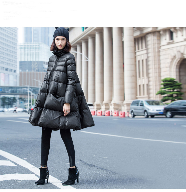 2018 new winter coats cloak type large-size high-quality   wild warm down jackets for women