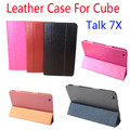 Original Cube Talk 7X  Flip Utra Thin Leather Case for CubeTalk 7X  2014 New 7 inch Tablet PC,Cube Talk 7X Case