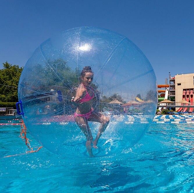 Amusement en plein air et sports jouet balle anti-stress balle 1.0mm TPU eau Zorb balle//gonflable boule de marche de l'eau 2 M de diamètre livraison gratuite