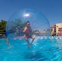 Outdoor fun & sports toy ball stress ball 1.0mm TPU Water Zorb Ball//Inflatable Water Walking Ball 2M Diameter Free Shipping