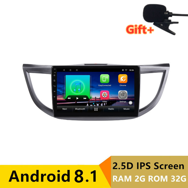 "10.1"" 2G RAM 32G ROM Android Car DVD Video Player GPS For HONDA CRV 2012 2013 2014-2016 audio car radio stereo navigation"