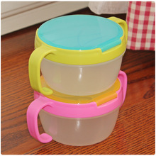 2016New Hot Infants Kid 360 Rotate Spill-Proof Bowl Dishes Tableware Baby Snack Bowl Food Container Feeding Children Assist Food