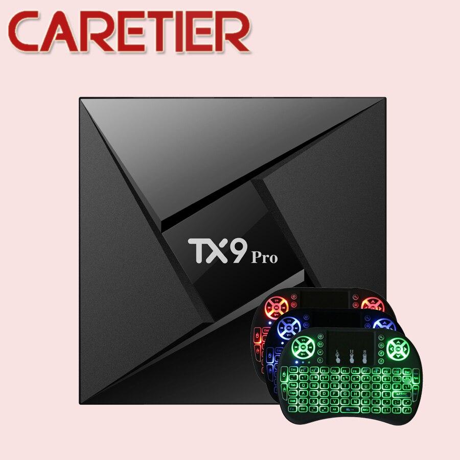 1PC TX9 pro Smart TV Box Amlogic S912 Octa core CPU Android 7 1 Set top