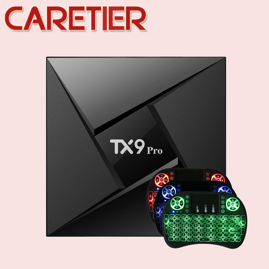 1PC TX9 pro Smart TV Box Amlogic S912 Octa core CPU Android 7.1 Set top Box 3G RAM 32G ROM OS Bluoth 4.1 1000M LAN tanix-in Set-top Boxes from Consumer Electronics    1