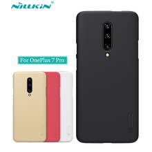 OnePlus 7 Pro Case Cover Nillkin Frosted Shield Back Case For OnePlus 7 Pro Hard Matte Bumper Gift Holder