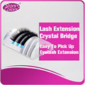 3 pieces Transparent Crystal bridge eyelash holder for eyelash extention grafting or Glue placing