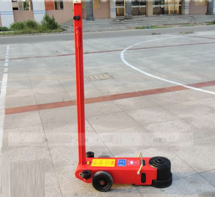 80Ton Air floor hydraulic jack for truck auto repairing