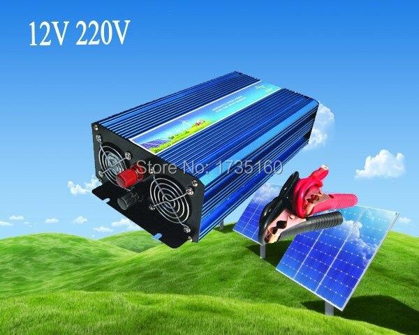 12v czysta fala sinusoidalna falownik 1500w falownik solarny darmowa wysyłka