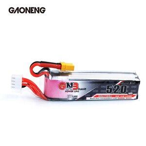 Image 3 - Gaoneng GNB 2 pièces batterie HV Lipo 520mAh 3S 11.4V 80C/160C, avec prise XT30, pour intérieur Drone RC FPV