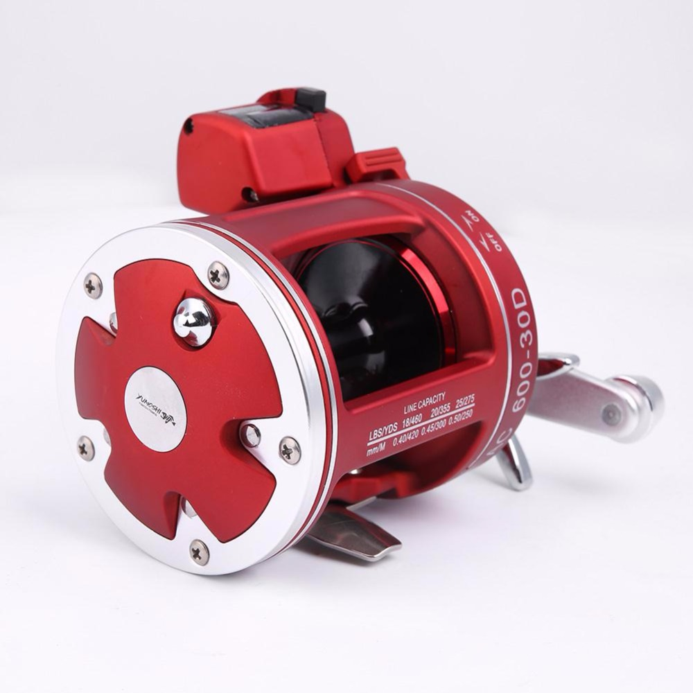 ФОТО Outdoor Bait Crank Lure Wheel Reel For Rod Line Pole 11+1BB Ball Bearing Fishing Trolling Fish Gear Right 30 w/Count