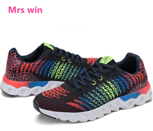 2017 new men running shoes high quality men sneakers trainers breathable mesh sport shoes men air jogging walking