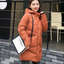 New parka women 2018 Winter Jacket Women Coats Hooded Ladies Coats Female Parka Thick Cotton Padded